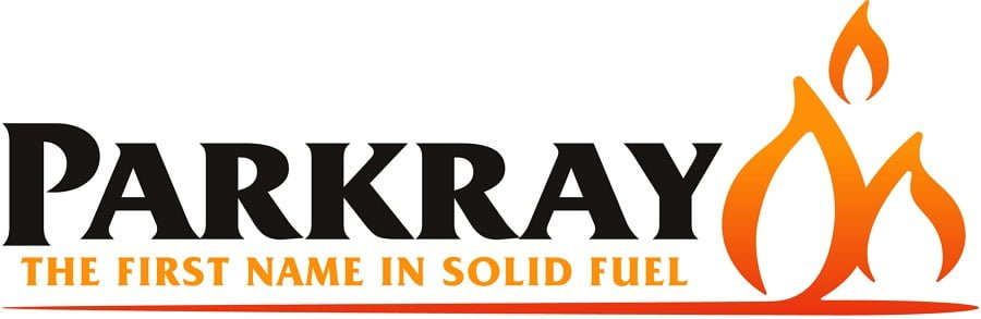 """Parkray The First Name In Solid Fuel"" Logo"