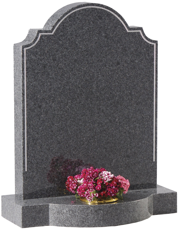 Dark Grey headstone. Grave. Funeral. Memorial. BWF Humphries Stonemasons, Wood Burning Stoves, Granite Worktops, Quartz Worktops. Hungerford, Newbury, Marlborough.