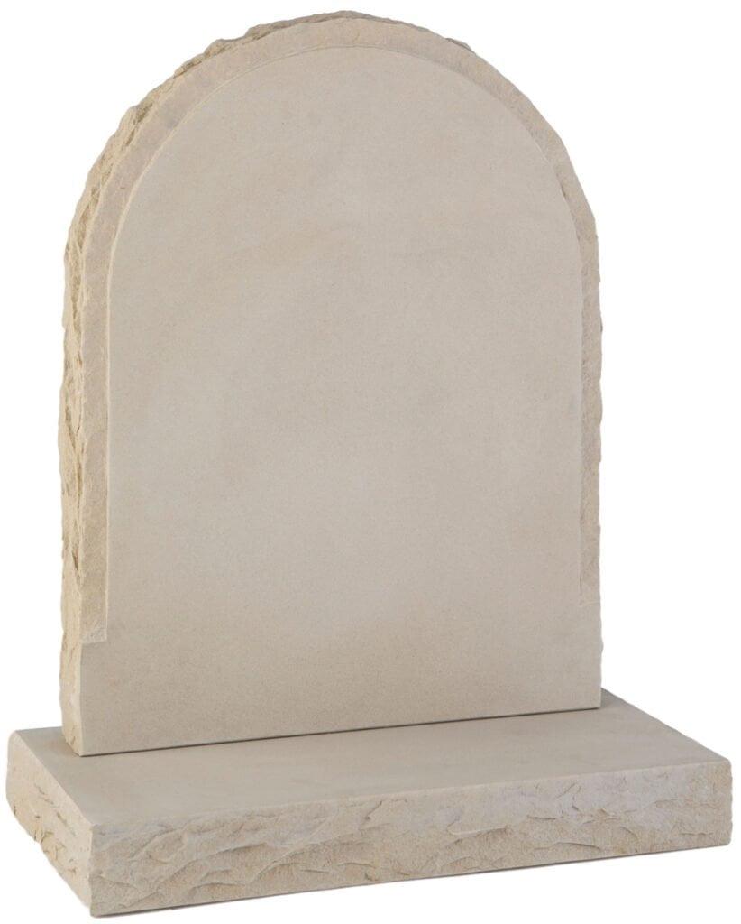 White headstone. Grave. Funeral. Burial. BWF Humphries Stonemasons, Wood Burning Stoves, Granite Worktops, Quartz Worktops. Hungerford, Newbury, Marlborough.